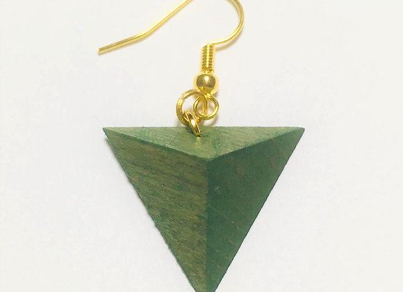 Small Tsumiki Earring【Pierced/Green】