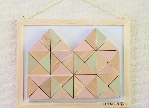 Design Tsumiki【Pastel-pink & Pastel-green】