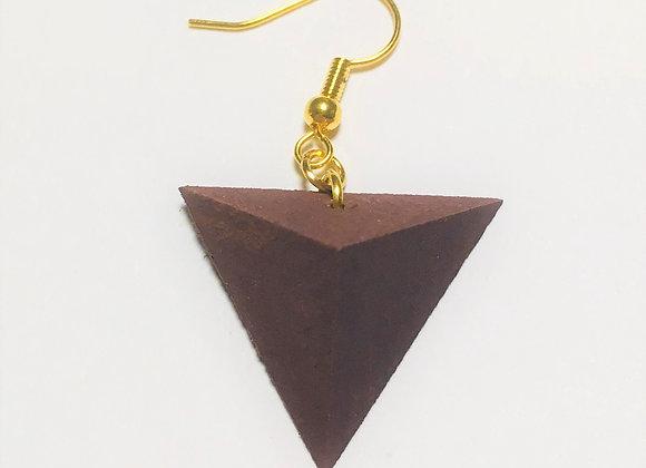 Small Tsumiki Earring【Pierced/Purple】