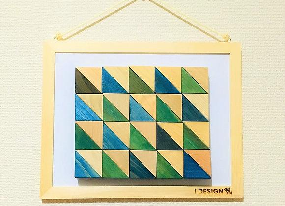 Design Tsumiki【Green & Blue】