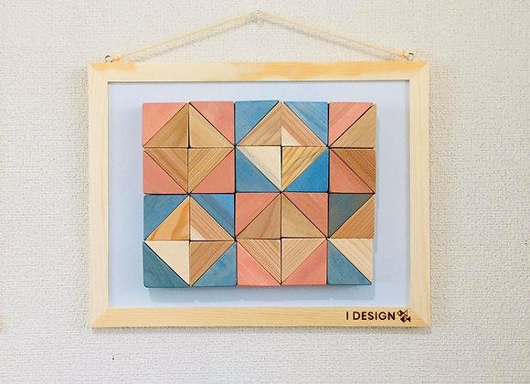 Design Tsumiki【Pink & Light-blue】