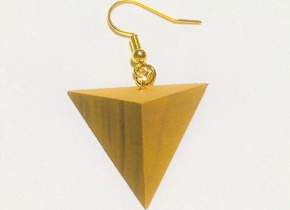 Small Tsumiki Earring【Pierced/Yellow】