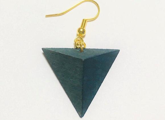 Small Tsumiki Earring【Pierced/Blue】