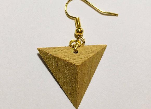 Small Tsumiki Earring【Pierced/Lemon-yellow】