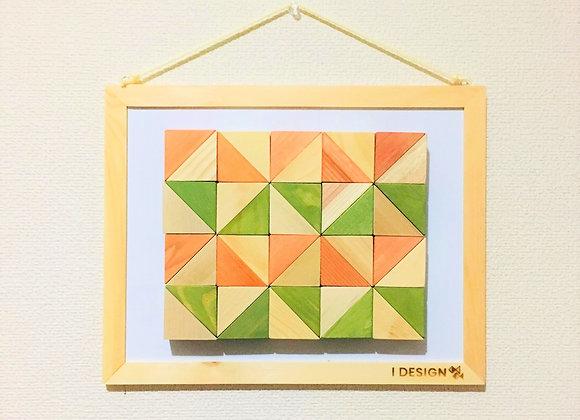 Design Tsumiki【Orange & Light-green】