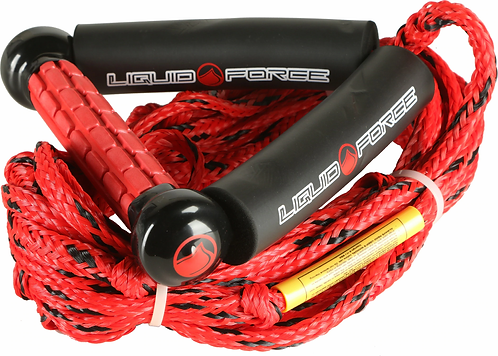 Liquid Force Wakesurf Rope w/ 8in Handle Wakesurf Handle/Line Combo