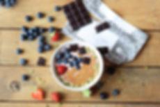 smoothie fresas, chocolate, receta, desayuno