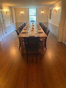 Pewter Room Dining Table