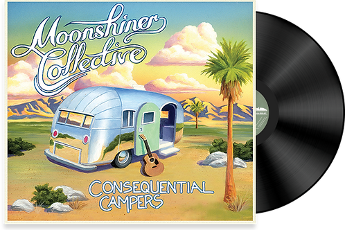 """Consequential Campers"" Vinyl"