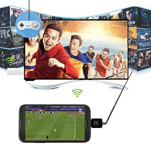 Micro USB DVB-T TV тунер за Android телефони и таблети