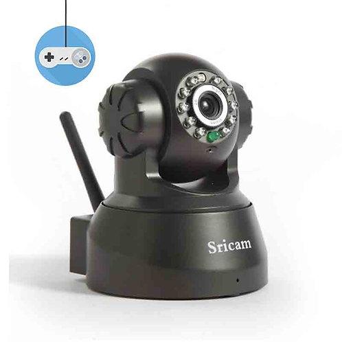 Безжична охранителна IP камера Sricam бебефон Wifi видеонаблюдение