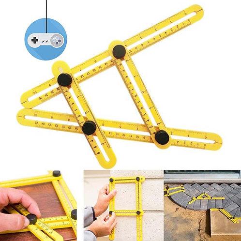 Уред за измерване на ъгли, калибриране, шаблон и линии