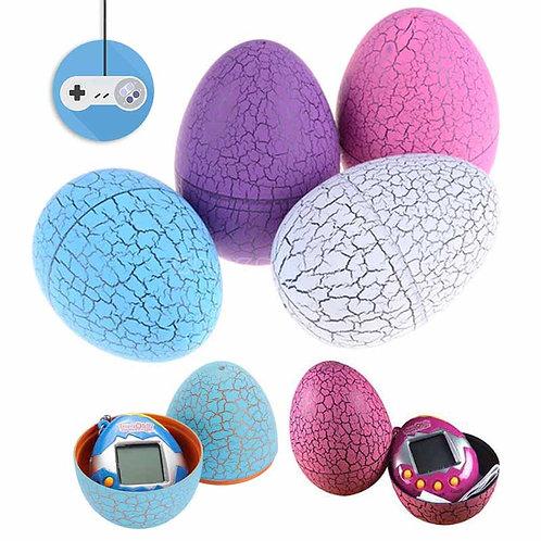 Тамагочи играчка в динозавърско яйце