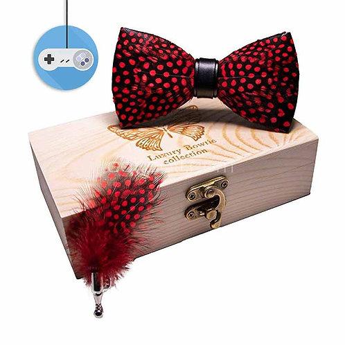 Луксозни и стилни папийонки в дървена кутия
