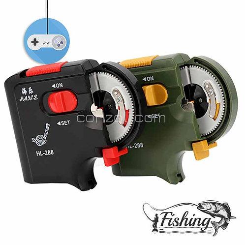 Електрическа машинка за връзване на рибарски куки