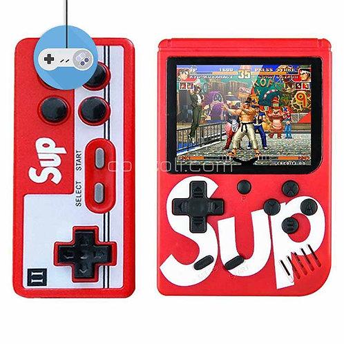 Преносима конзола SUP с цветен екран 400 в 1 вградени игри джойстик