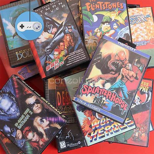 Дискети с 16bit игри за Sega Mega Drive / Sega Genesis