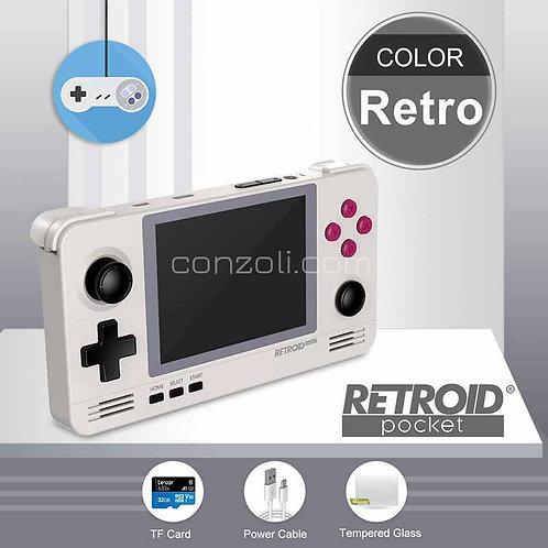 Retroid Pocket 2 ретро джобна 3,5 инчова конзола с IPS екран