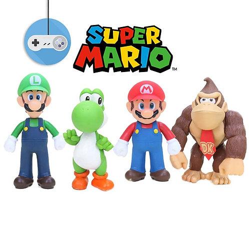 Сет фигурки на герои от Super Mario