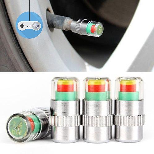 Капачки за вентили с датчик за налягането в гумите