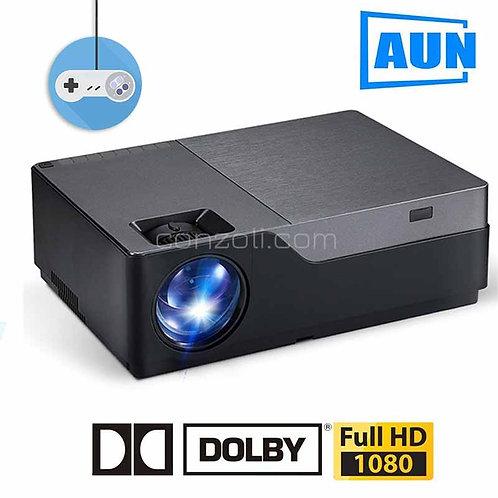 AUN Full HD проектор с 1920x1080P резолюция