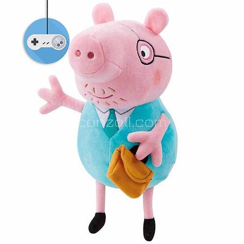 Пепа Пиг голяма плюшена играчка прасенце от поредицата Peppa Pig