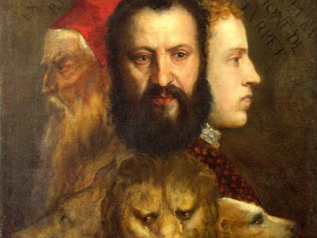 Mythical Egyptian Monster + Symbolism + Art History = Shakespeare