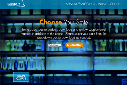 ServSafe Alcohol Online Course and Primary Exam