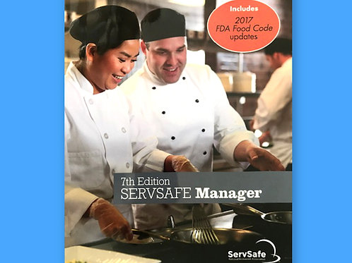 ServSafe® Manager Book w/ Answer Sheet Case Price