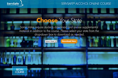 ServSafe Alcohol Online Course and Advanced Exam