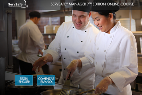 ServSafe® Manager Online Course w/ Virtual Proctored Exam