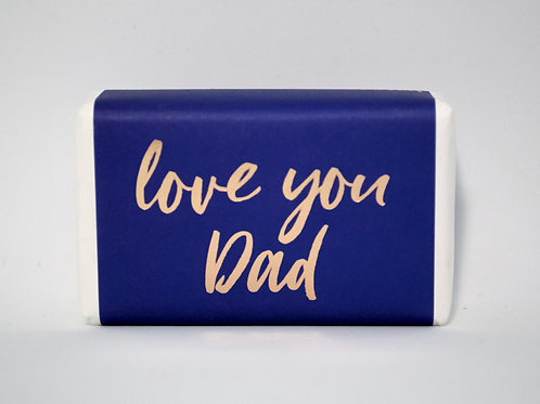 """""""Love You Dad"""" Soap"""