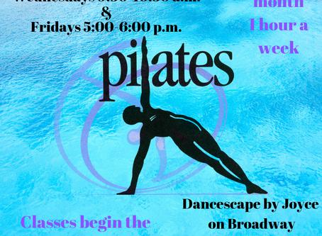 Pilates  New at Dancescape by Joyce