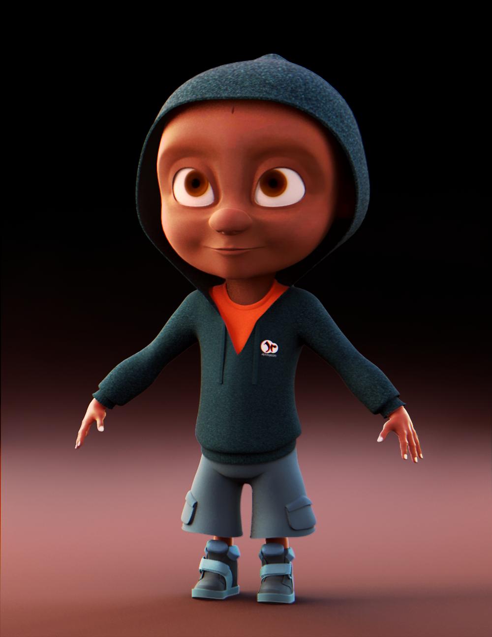 Junior_Character modeling WIP