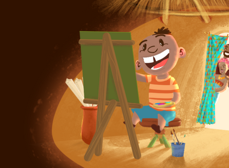The day I Illustrated a Children's book