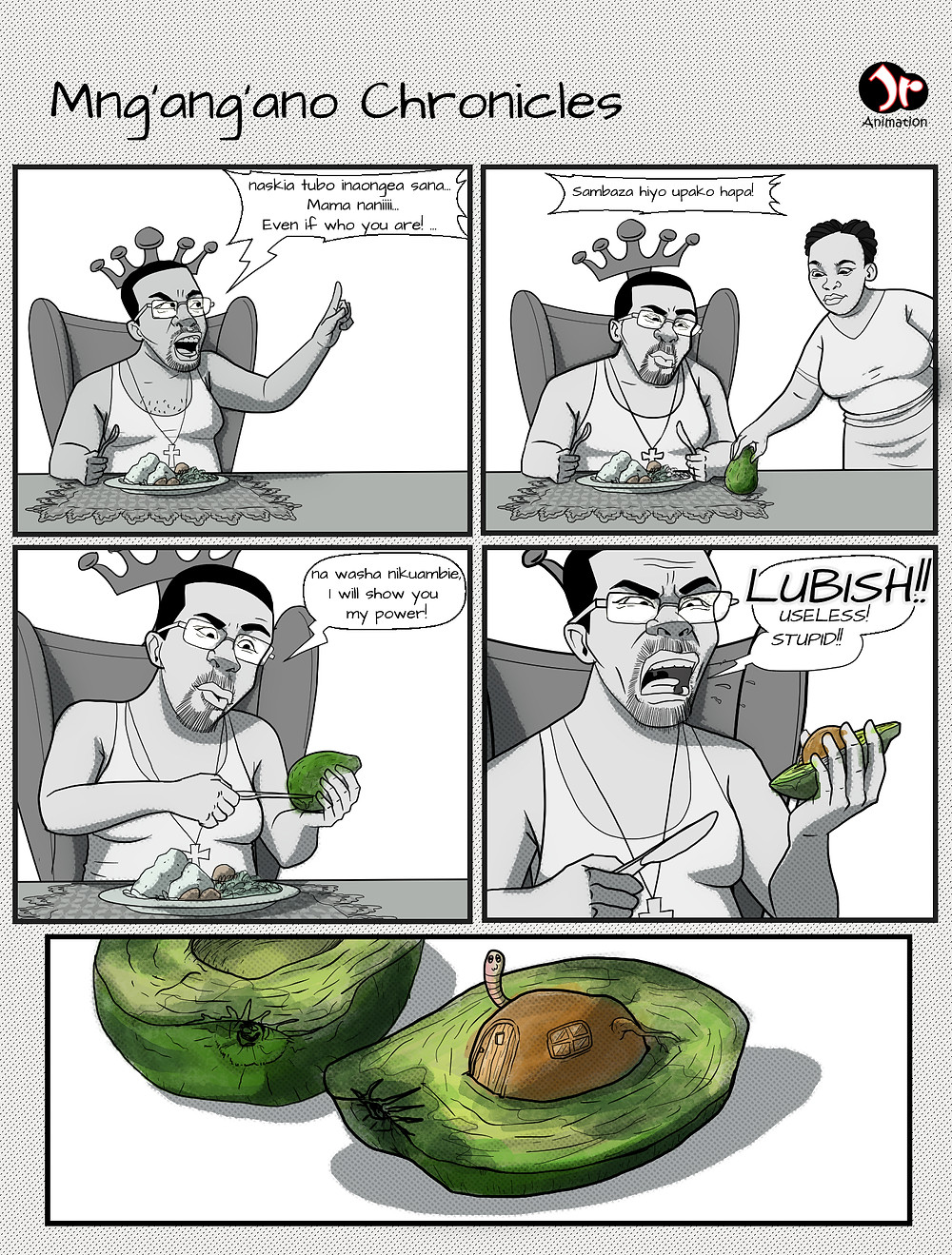 Labish comic strip