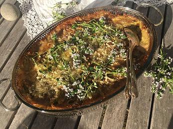 lasagne svamp ramslökspesto