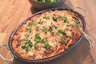 Lasagne med squash och linser vegetarisk