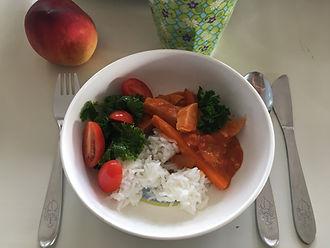 vegetarisk barnmat