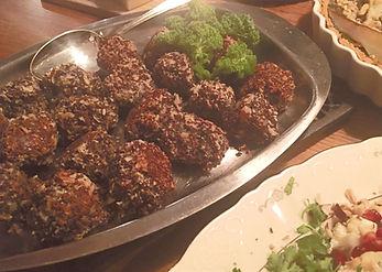 Göttbullar växtbaserade veganska vegetariska köttbullar