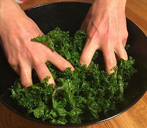 Grönkålssallad  | vegetarisk mat