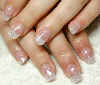 Nail extensions at Lisa Morgan Beauty Salon