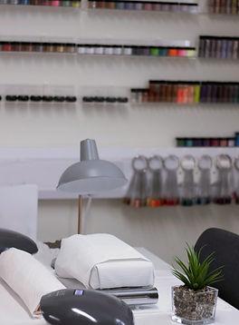 The salon at Lisa Morgan Beauty Salon