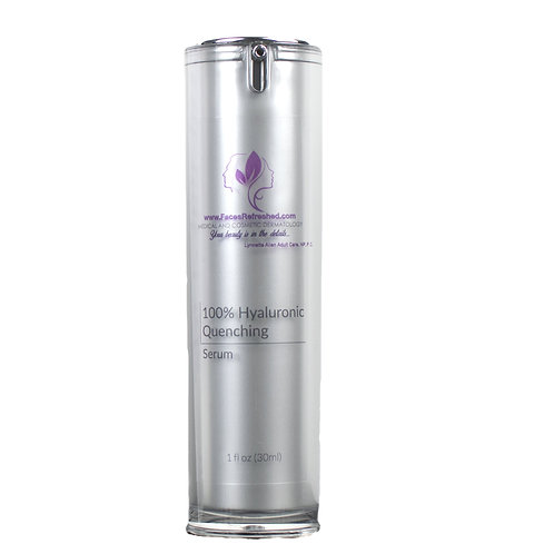 100% HYLAURONIC ACID MOISTURIZING SERUM