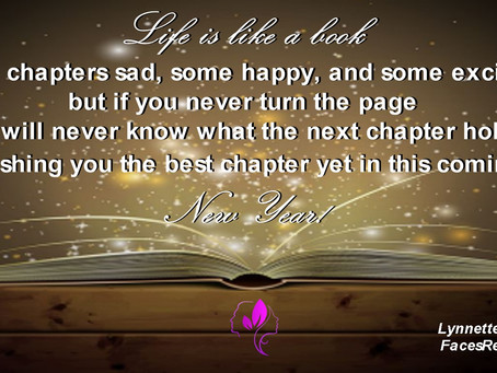Here's To a New Year and Writing a New Chapter