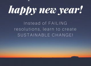 Learn To Create ACTUAL & Lasting Change in 2018!