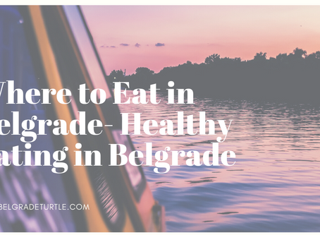 Where to Eat in Belgrade- Healthy Eating in Belgrade