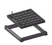 Square Concrete Infill Covers & Frames