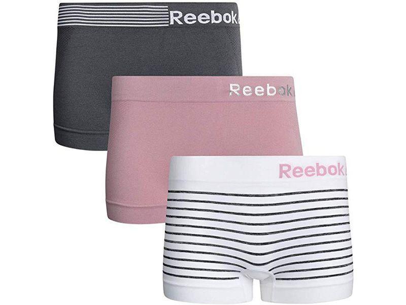 Reebok 3-Pack Seamless Boyshort Panties