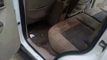 One of the dirtiest interiors you will find